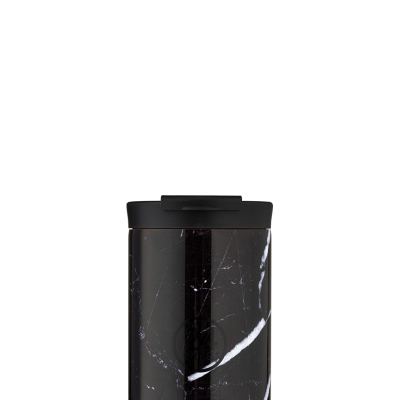 Travel Tumbler - Black Marble 350ml