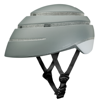 CLOSCA™ HELMET LOOP FOSSIL/WHITE
