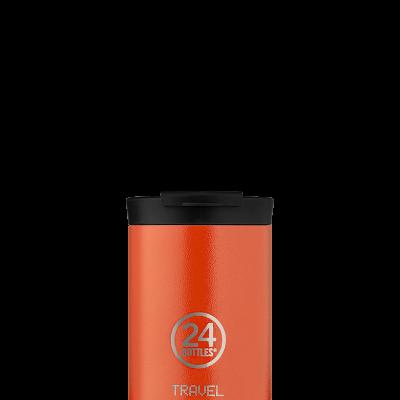 Travel Tumbler - Sunset Orange 350ml