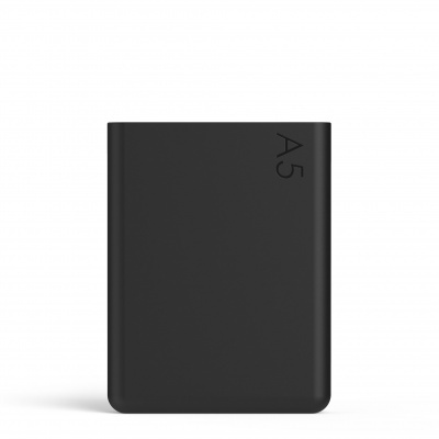 A5 Silicone Sleeve - Black Ink
