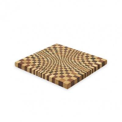"""Cutting Board """"Vega"""" oak/thermo wood – LARGE"""