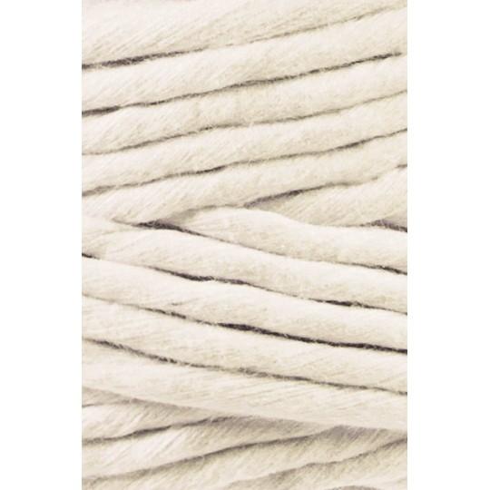 """Fio de algodão torcido 5mm """"Bobbiny""""   Natural"""