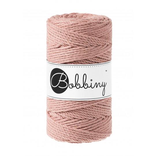 "Corda torcida de 3 cabos ""Bobbiny"" - 3mm | Blush"