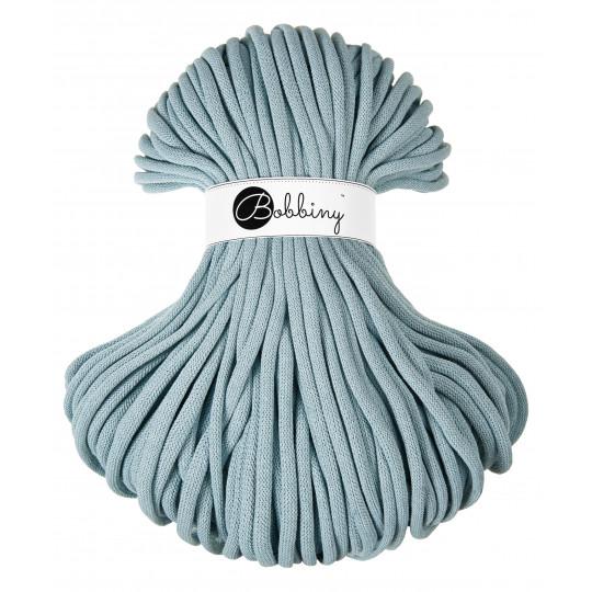 Fio de algodão entrançado 9mm | Misty Blue