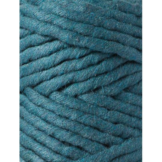 Fio de algodão torcido 5mm | Peacock Blue