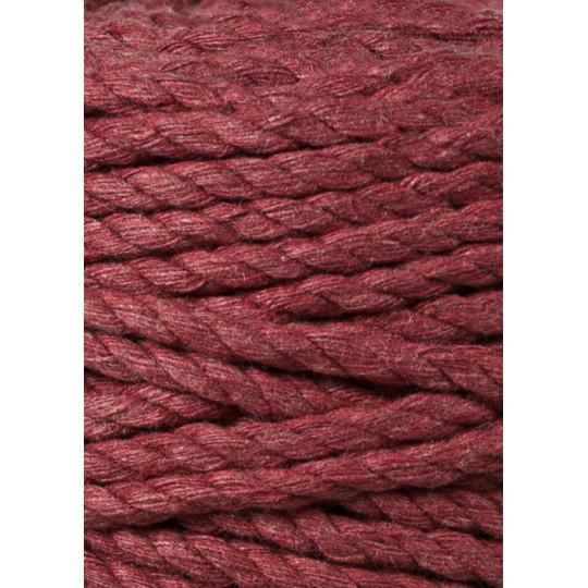 """Corda torcida de 3 cabos """"Bobbiny"""" - 5mm   Wild Rose (100 metros)"""