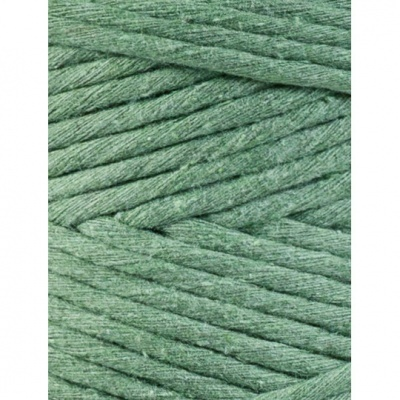 """Fio de algodão torcido 3mm """"Bobbiny""""   Eucalyptus Green"""