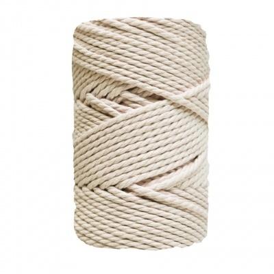 Corda torcida de 3 cabos - 5mm | Cru