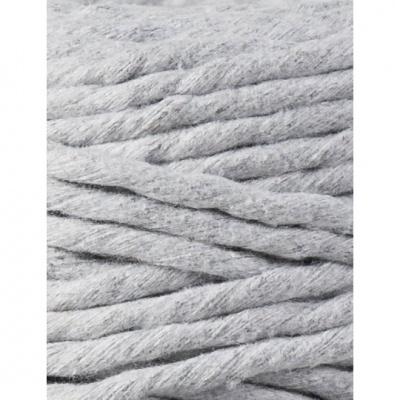"""Fio de algodão torcido 5mm """"Bobbiny""""   Light Grey"""