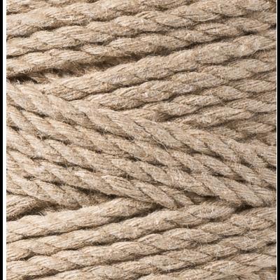 "Corda de 3 cabos ""Bobbiny"" 3mm | Sand"