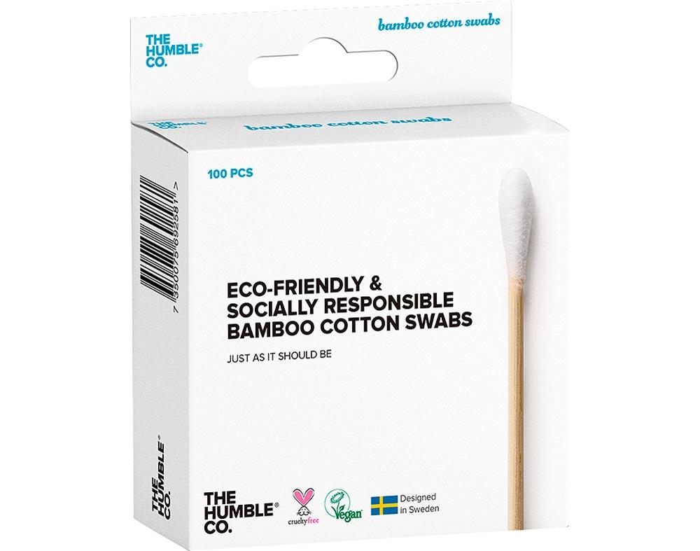 Cotonetes de bambu - The Humble Co.