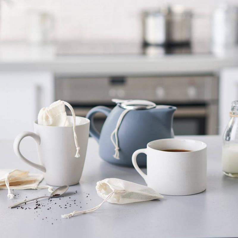 Saco para chá reutilizável