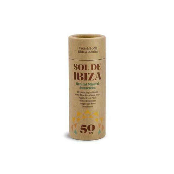 Protetor Solar Natural Sol de Ibiza – Stick SPF 50