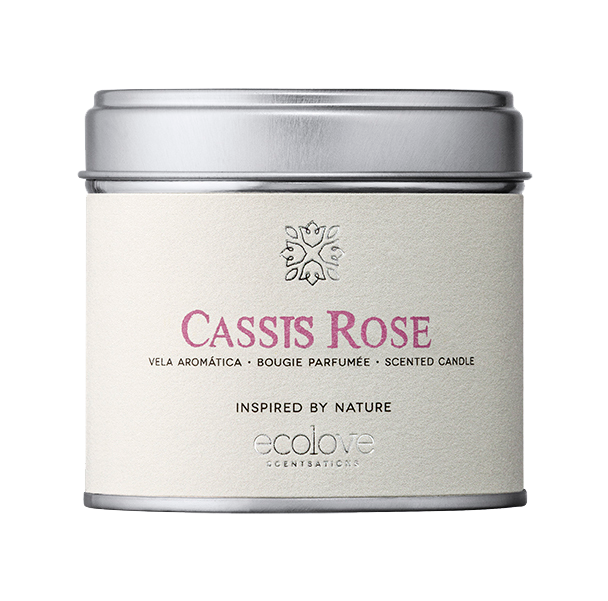 Vela ecolove - Cassis Rose 175gr