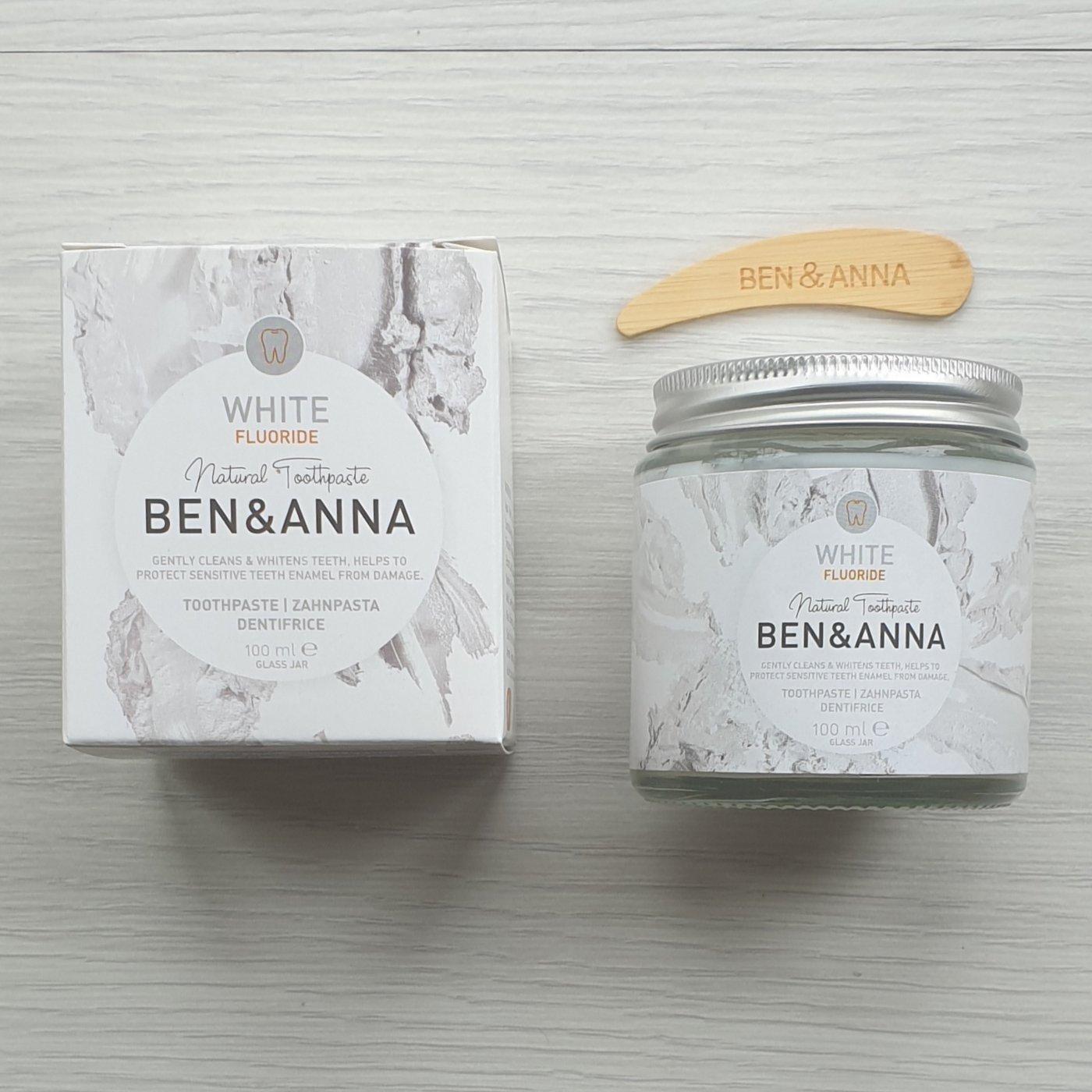Pasta de dentes Ben & Anna - White (Branqueadora)