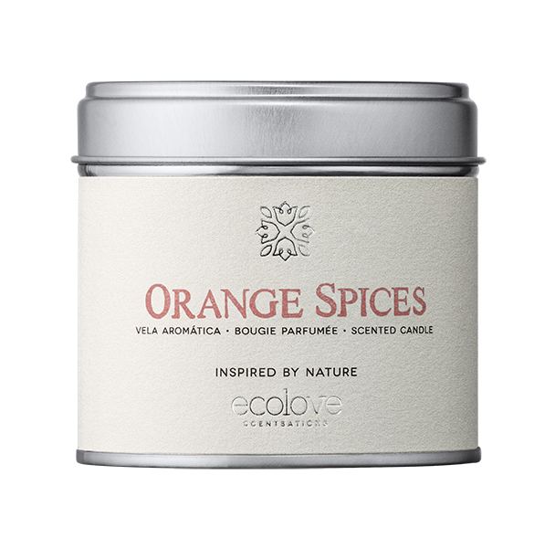 Vela ecolove - Orange Spices 175gr