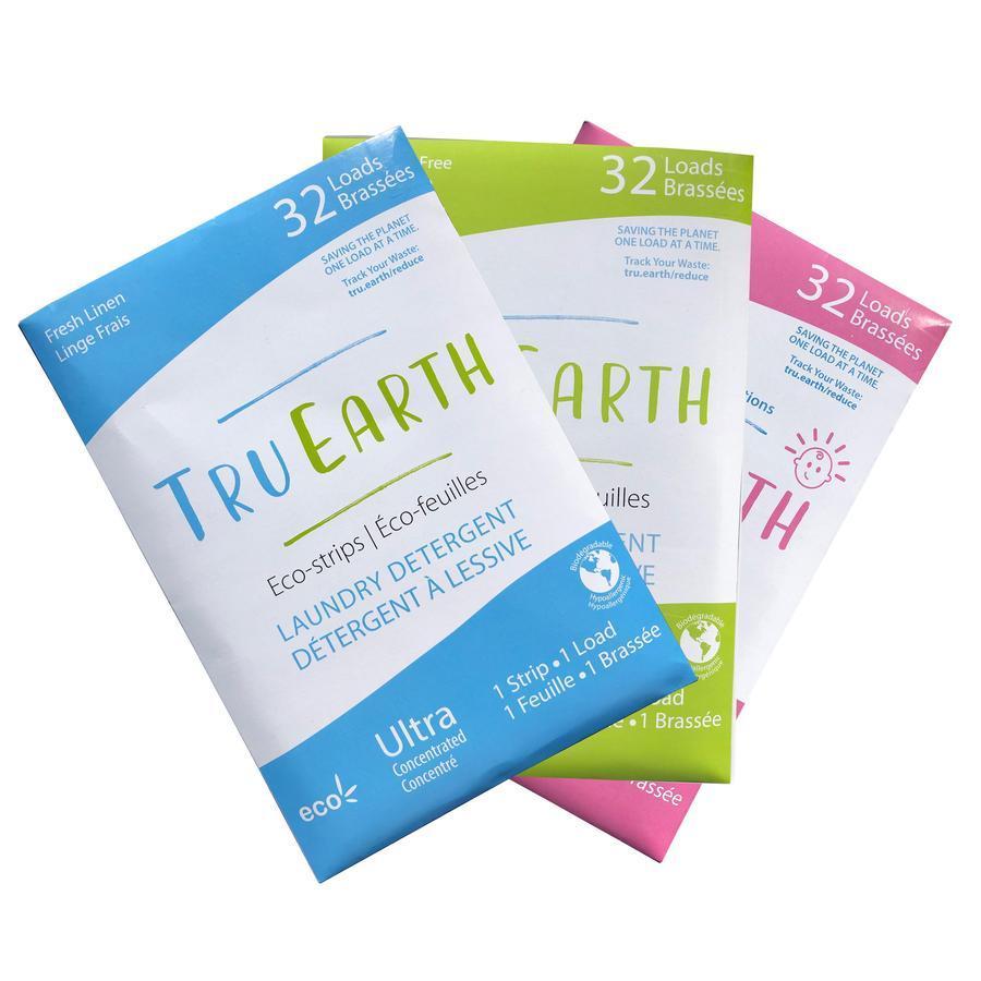 Detergente para Roupa em Tiras - Tru Earth 32 Doses