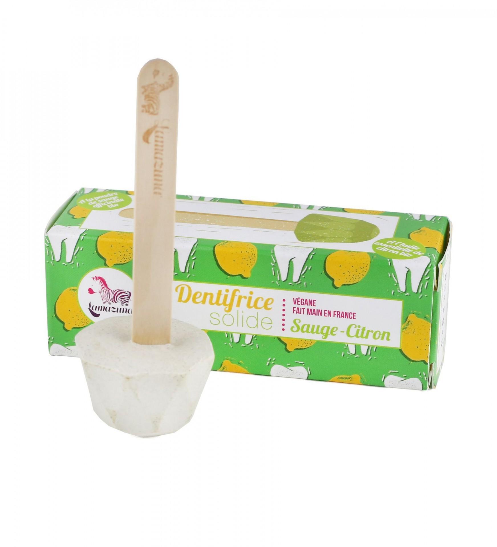 Pasta de dentes sólida Lamazuna - Sálvia e Limão