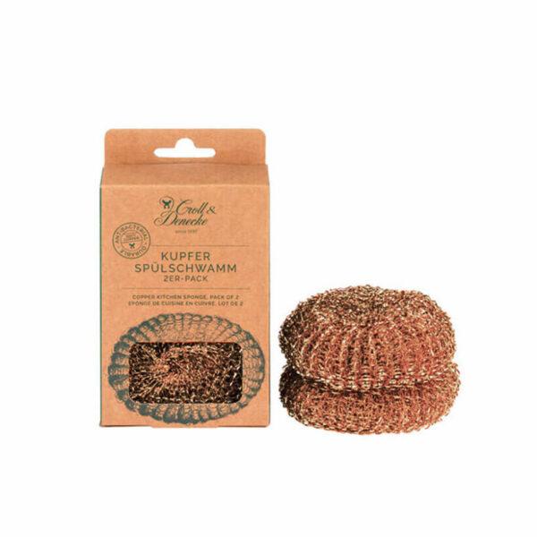 Esfregão para louça em cobre - Croll & Denecke