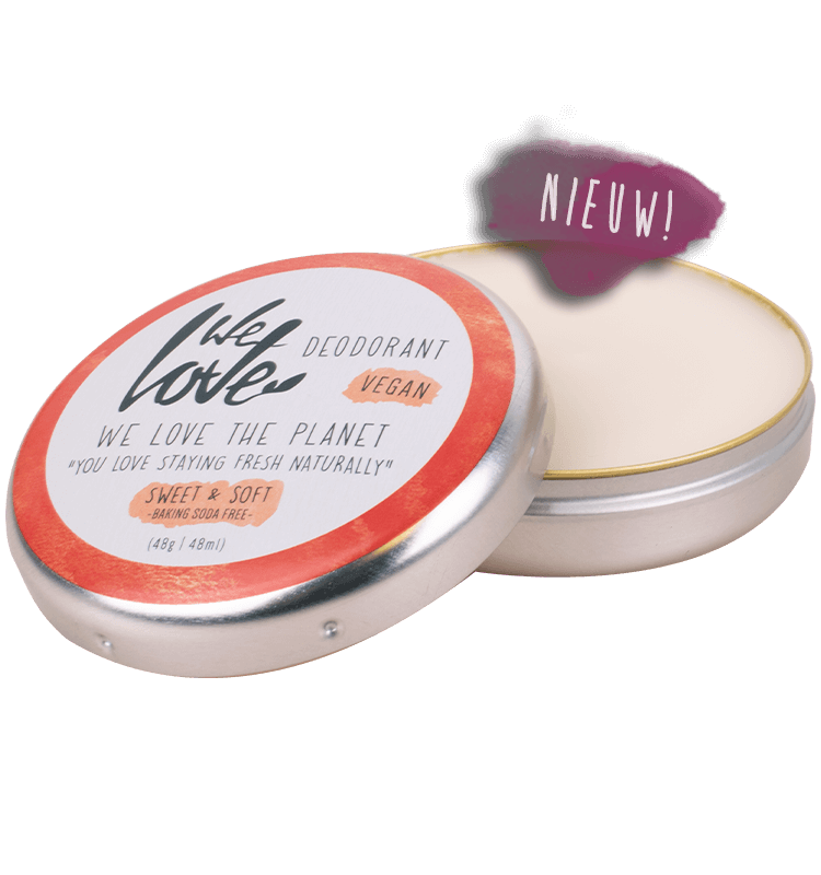 Desodorizante natural We Love The Planet - Lata
