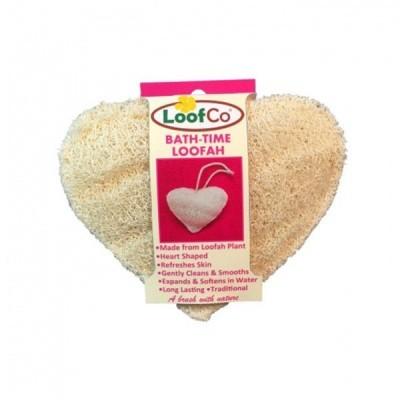 Esponja de Luffa para Banho Coração - LoofCo