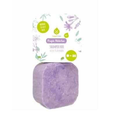 Champô Sólido VeganCare - Purple Addiction (Cabelos Normais a Oleosos)