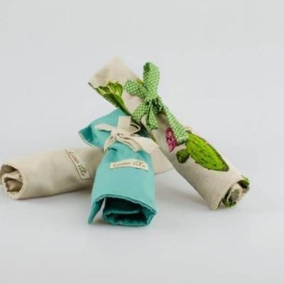 Estojo com talheres - Green Vibe