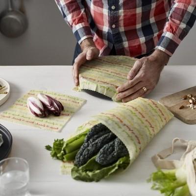 Food Wrap Orgânico e Vegano - Conjunto Médio