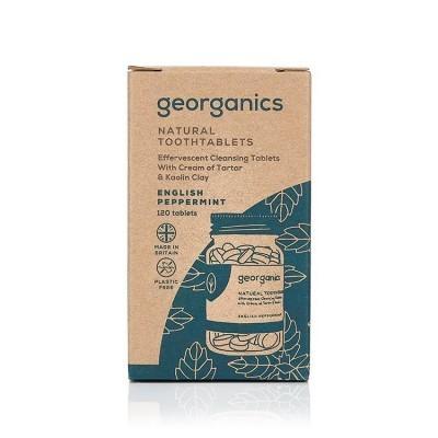 Dentífrico em Pastilha Georganics - Menta Inglesa