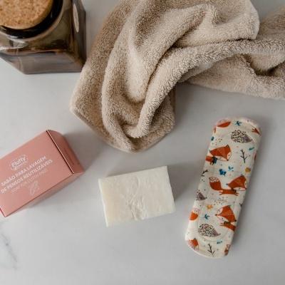 Sabão para lavagem de Pensos Reutilizáveis - Fluffy