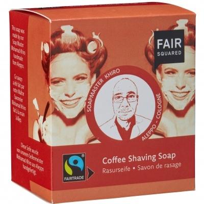 Sabão de barbear/depilar com café - Fair Squared