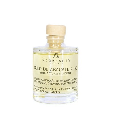 Óleo de Abacate Puro - Vegbeauty