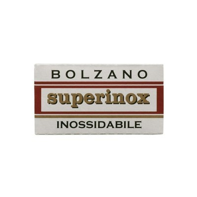 Lâminas de Barbear Bolzano - Superinox