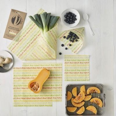Food Wrap Orgânico e Vegano - Conjunto Grande