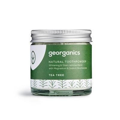 Pó Dentário Georganics – Árvore do Chá
