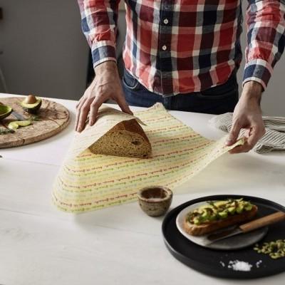 Food Wrap Orgânico e Vegano - Pão