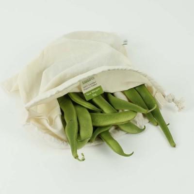 Saco Reutilizável A Slice of Green - Médio