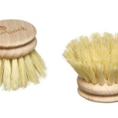 Recarga Escova para louça de Madeira - Ecoliving