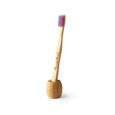 Suporte de bambu para escova de dentes - The Humble Co.