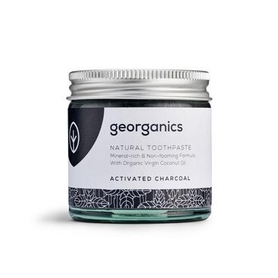 Pasta de Dentes Natural Georganics – Carvão Vegetal Ativado