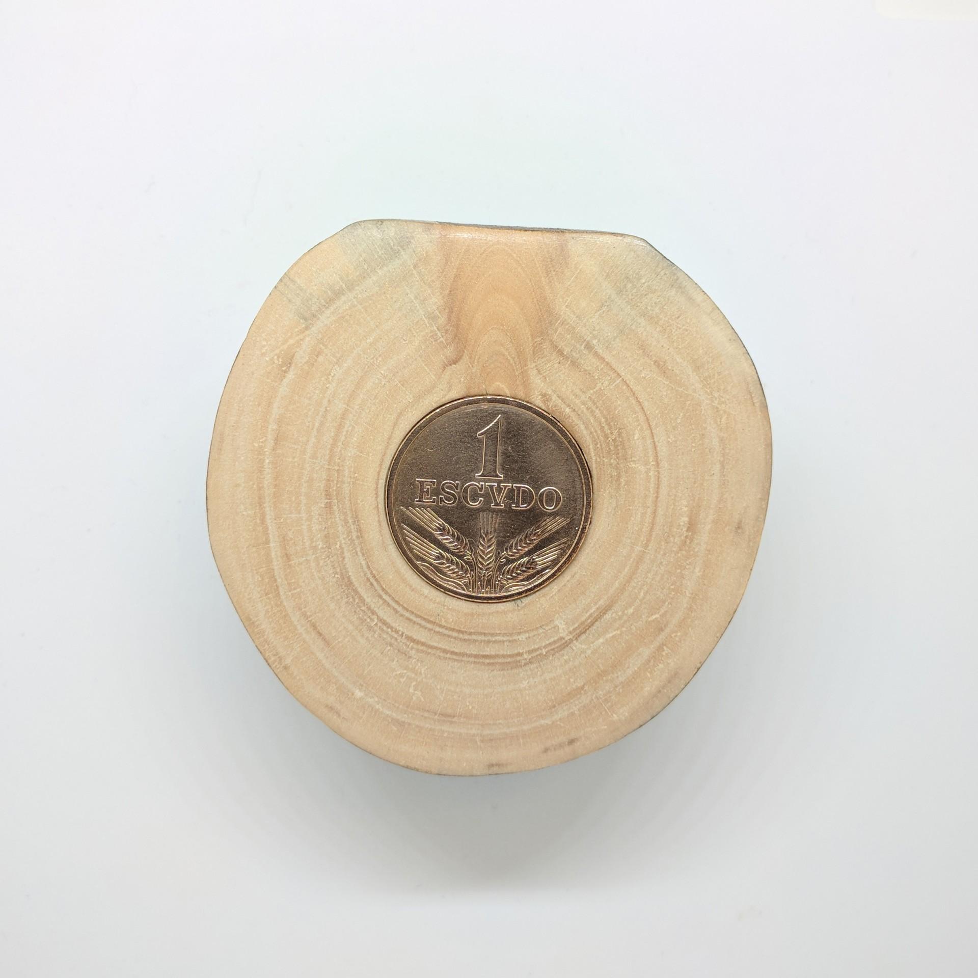 Pisa-papel 1$ Escudo