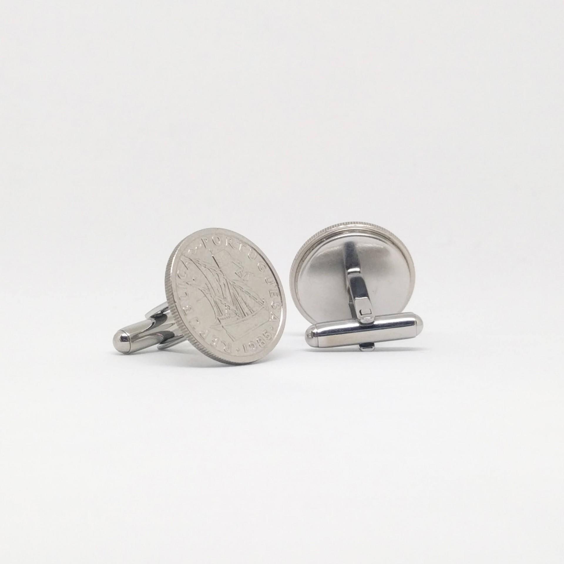 Botões de punho 2$50 Escudos
