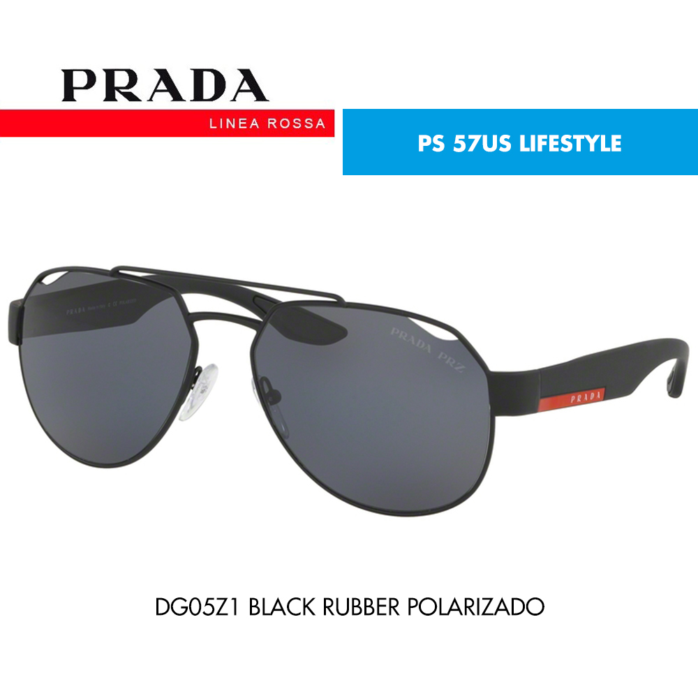 Óculos de sol Prada Linea Rossa PS 57US LIFESTYLE