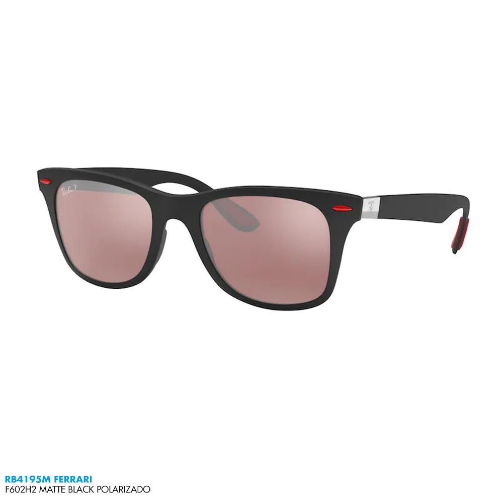 Óculos de sol Ray-Ban RB4195M FERRARI