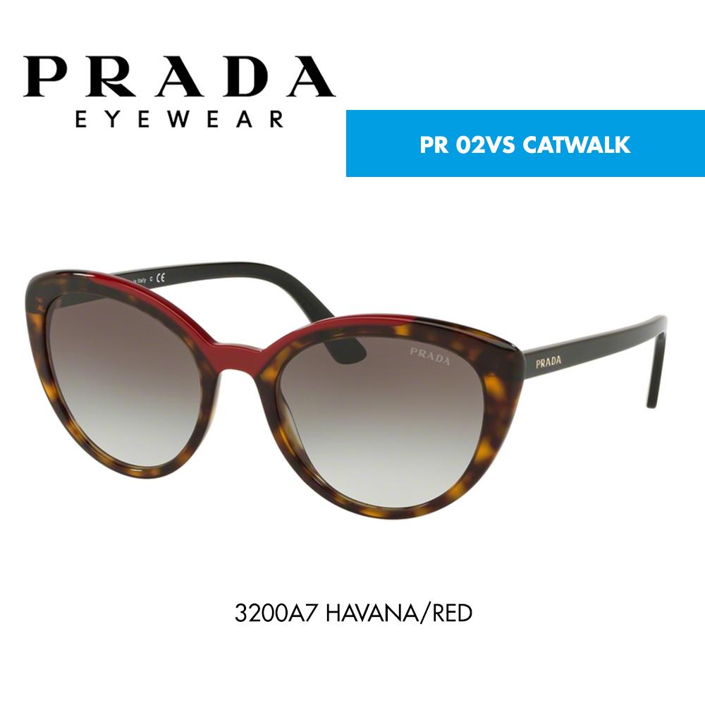 Óculos de sol Prada PR 02VS CATWALK