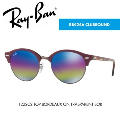 Óculos de sol Ray-Ban RB4246 CLUBROUND
