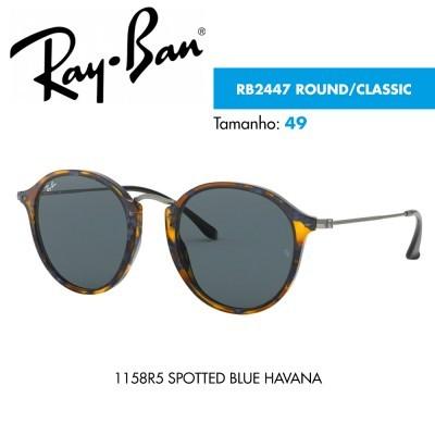 Óculos de sol Ray-Ban RB2447 ROUND/CLASSIC