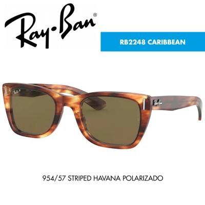 Óculos de sol Ray-Ban RB2248 CARIBBEAN