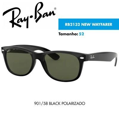 Óculos de sol Ray-Ban RB2132 NEW WAYFARER