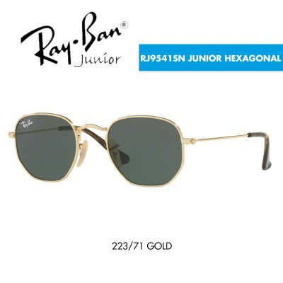 Óculos de sol Ray-Ban RJ9541SN JUNIOR HEXAGONAL